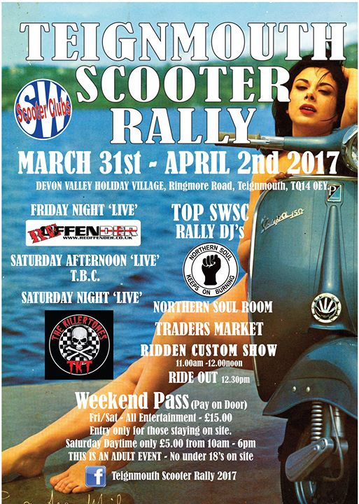 Teignmouth Scooter Rally 2017