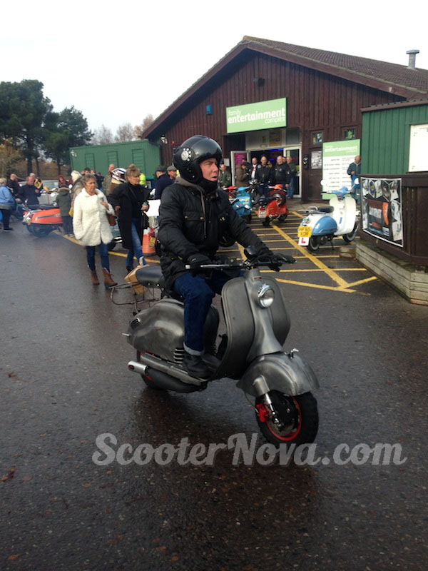 Warmwell Scooter Rally