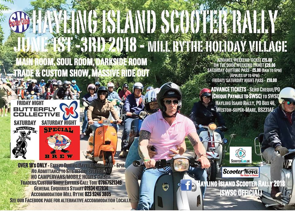 Hayling Island Scooter Rally