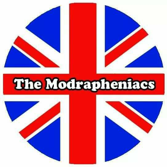 Modrapheniacs Jo Loving, Tony Wood & Absent Friends