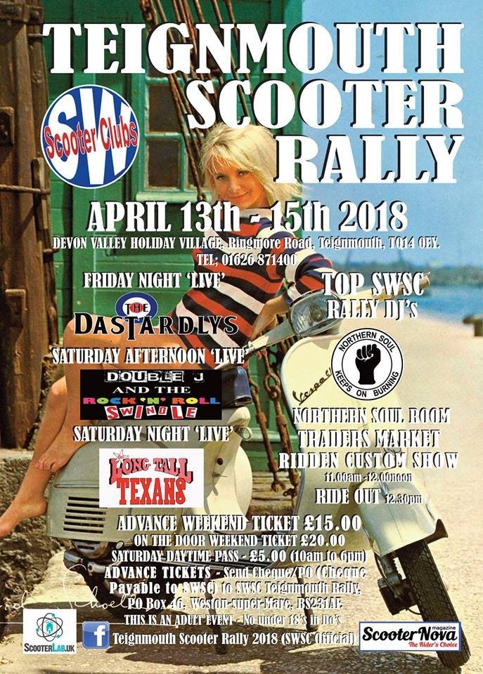 Teignmouth Scooter Rally