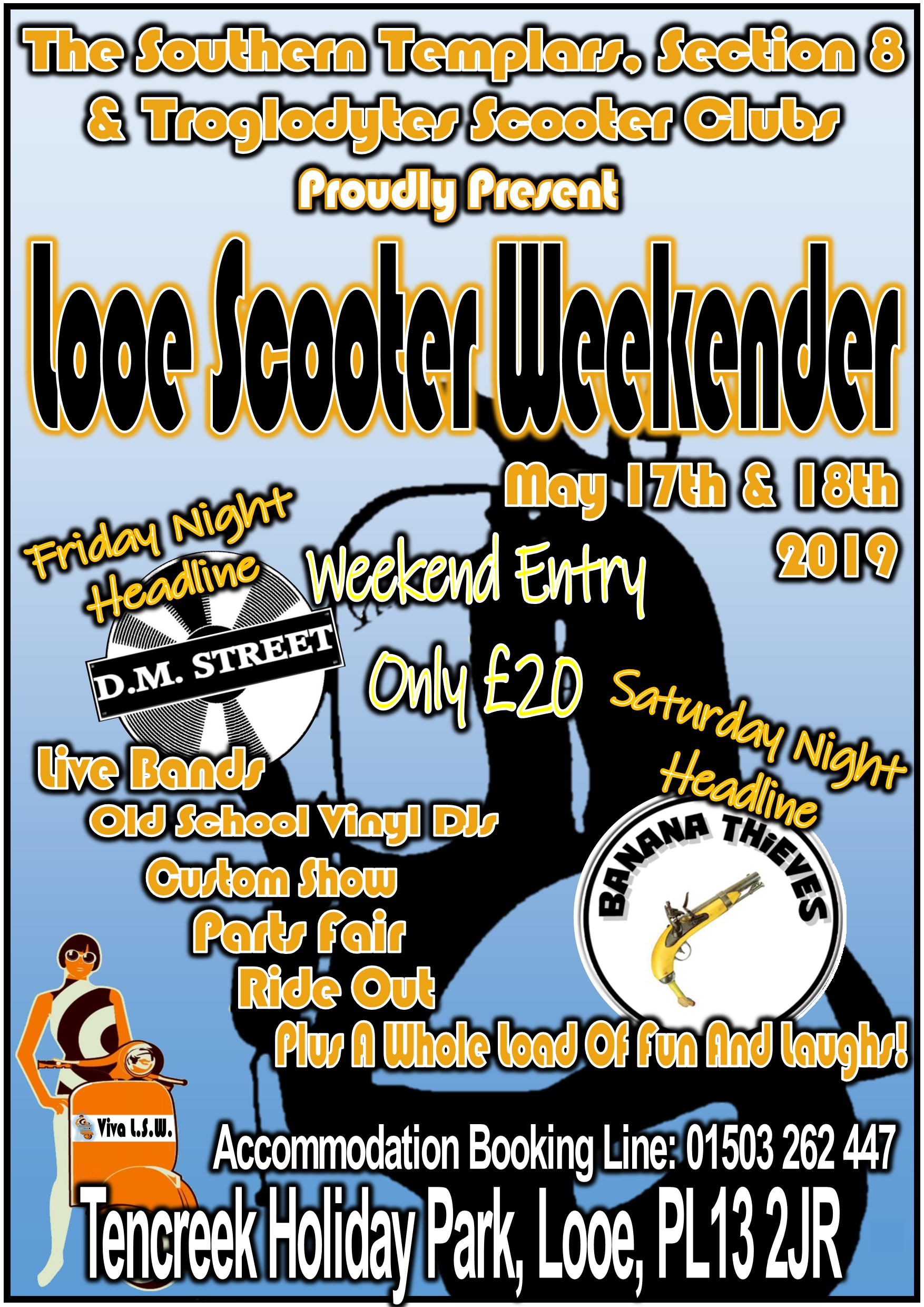 Looe Scooter Weekend