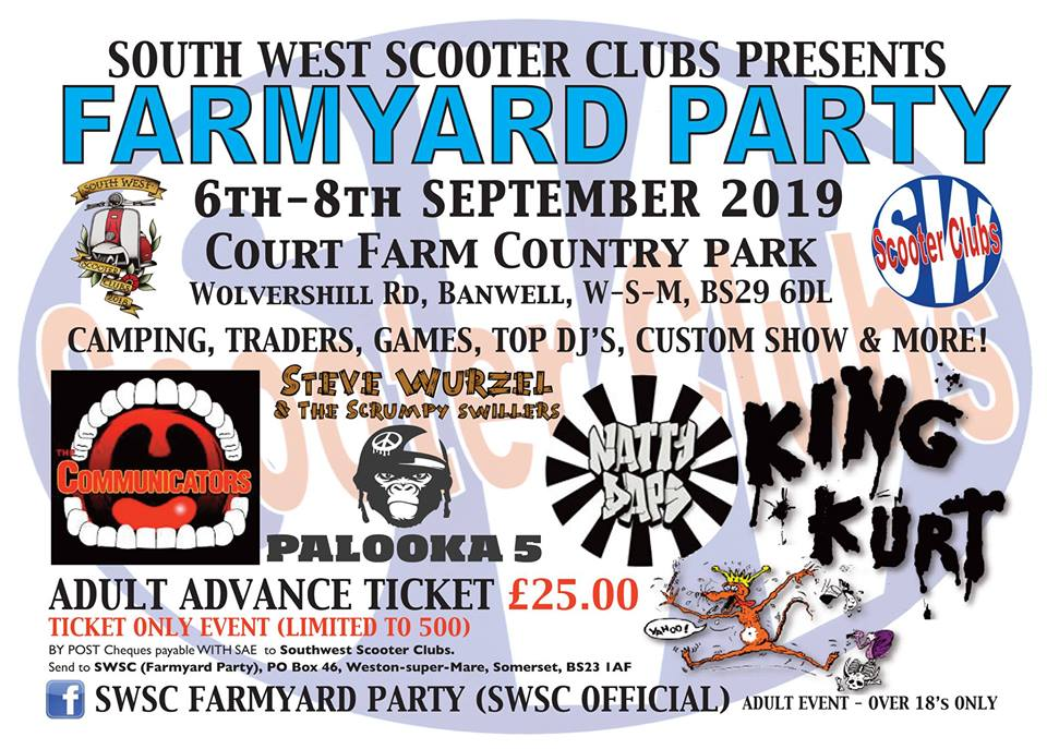 SWSC Farmyard Party