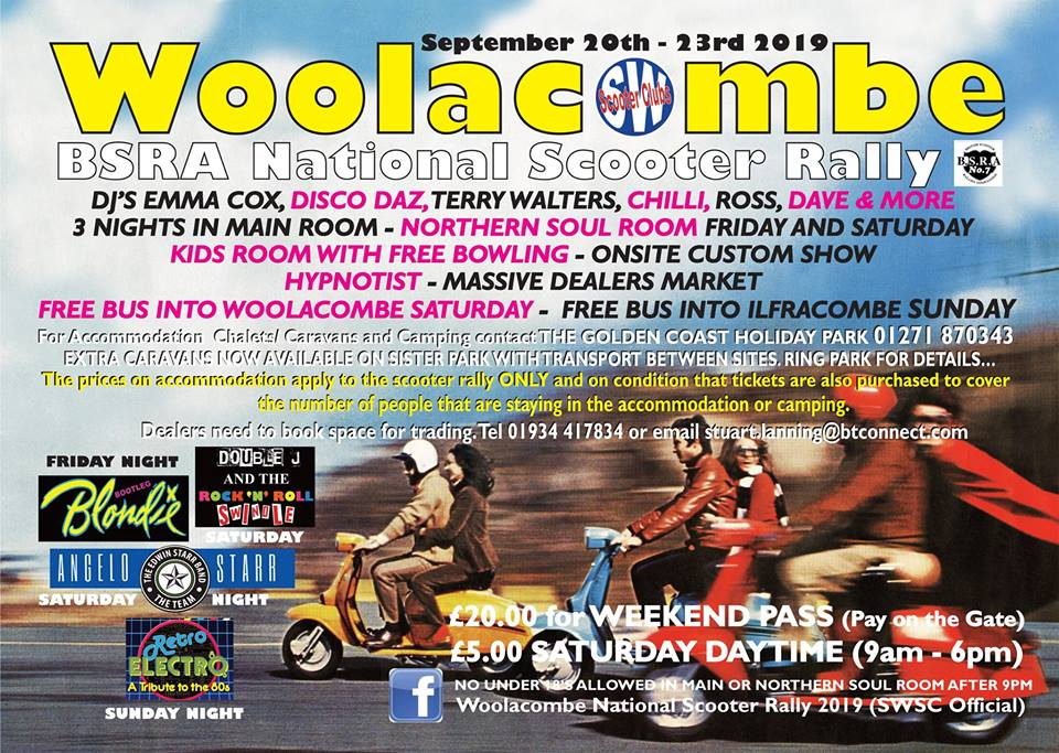 Woolacombe National Scooter Rally