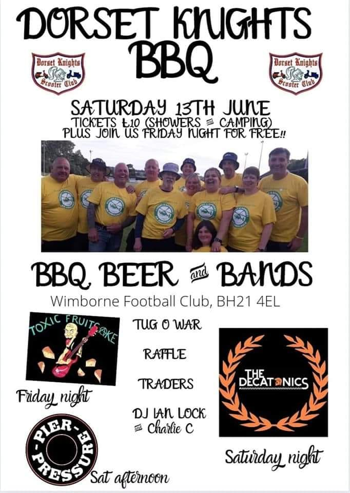 Dorset Knights BBQ Weekend
