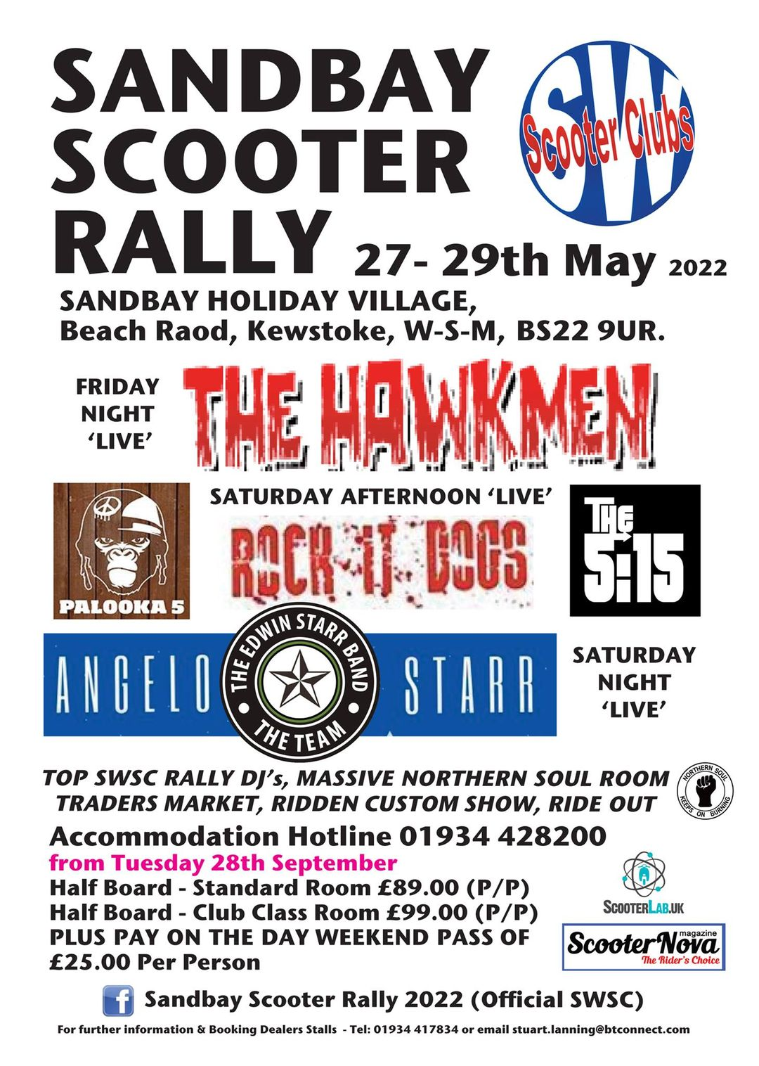 Sand Bay Scooter Rally